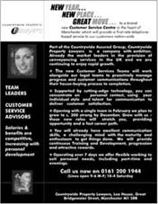countrywide assured recruitment advertising example